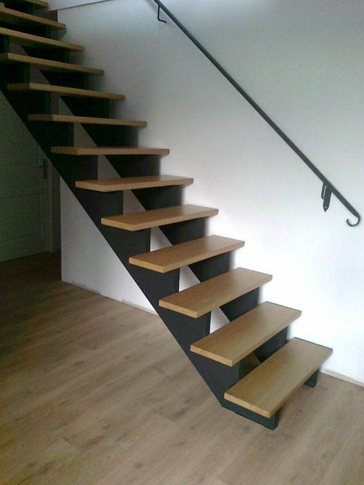 Escalier Noir Et Bois. Stunning Ides Cratives Pour Faire Un Tableau ...